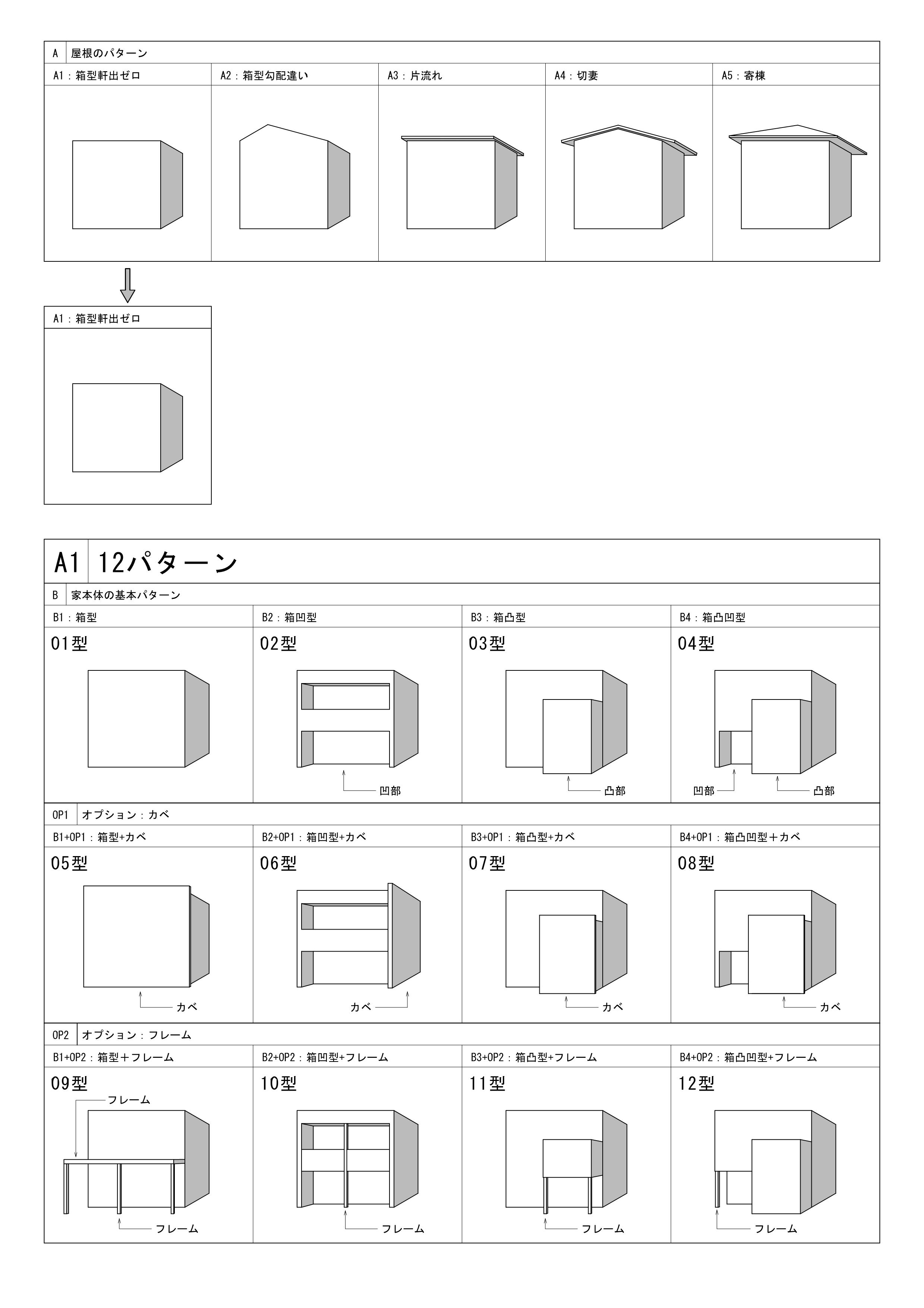 デザイン住宅・60ノ型参考